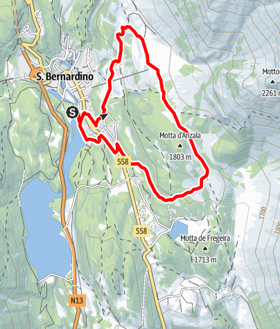 Mappa / Valle del Silenzio - Trail Running