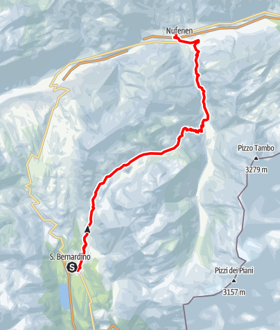 Map / Val Vignun - Trail Running