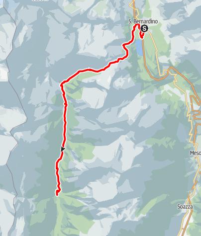 Mappa / Pass di Passit - Trail Running