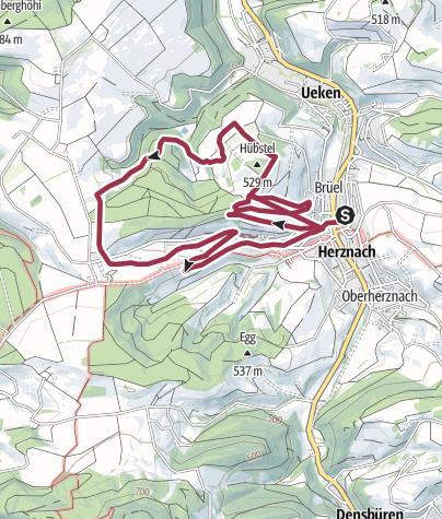 Map / Picknick rund um Herznach