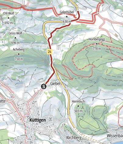 Map / Geo-Wanderweg Küttigen
