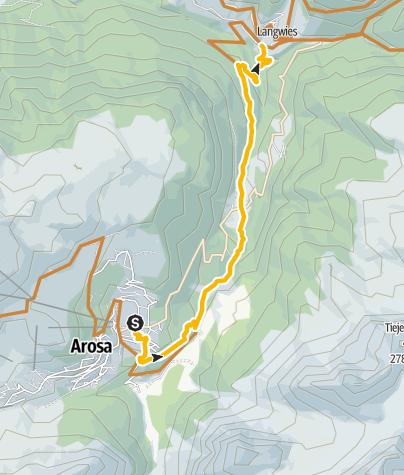 Map / Familien: Arosa - Langwies