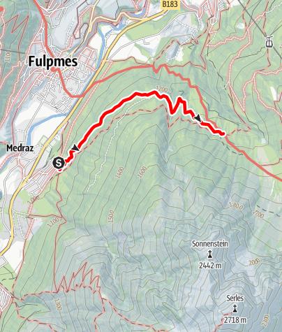 Karte / Medraz - Sonnenstein