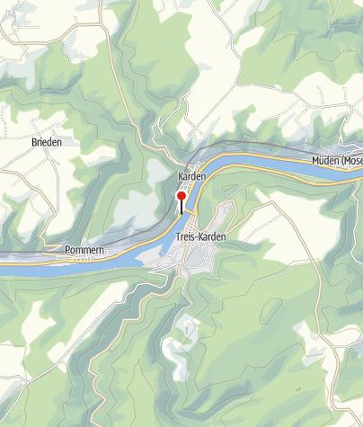 Map / Lauschpunkt am Mosel-Radweg (Treis-Karden/Abzweig)