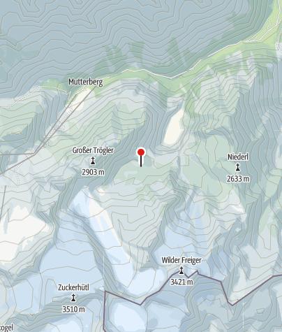 Mapa / Klettergarten Sulzenau