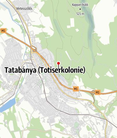 Map / Gerecse Kapuja Látogatóközpont