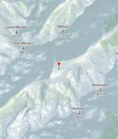 Karte / Hüttentaxi Oberissalm