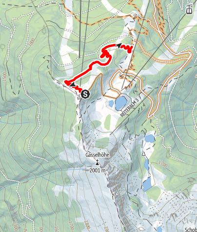 Mapa / Gassl Trail
