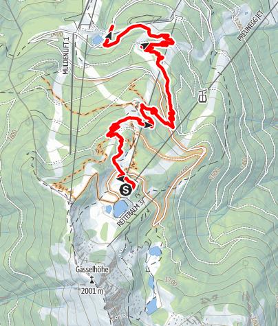 Karte / Eiskar Trail
