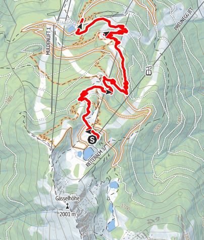 Mapa / Eiskar Trail