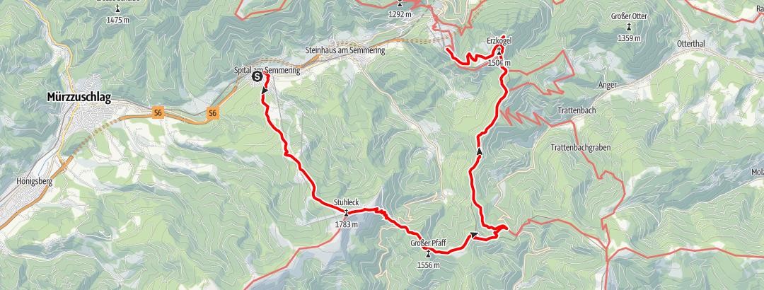 Karte / Stuhlecktour