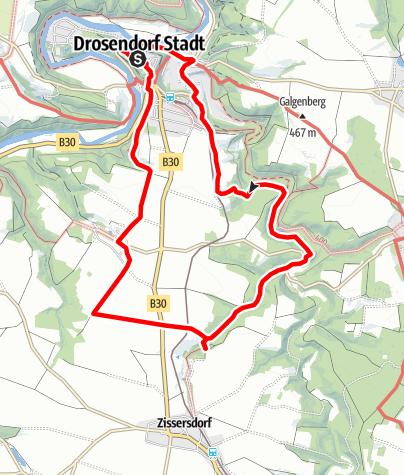 Mapa / Schneebründlweg