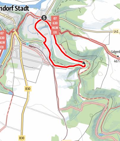 Map / Bründlsteig