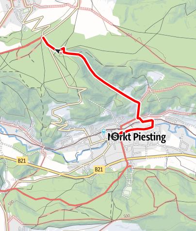 Mapa / Weg des Harzes