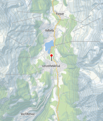 Map / Tennis Club Lenzerheide-Valbella
