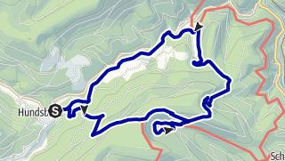 Karte / Wandern in Forbachs Süden I - Hundsbach, Schurmsee, Erbersbronn