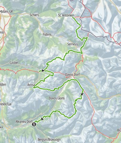 Map / Walserweg - Dr Wäg zun dä Walser