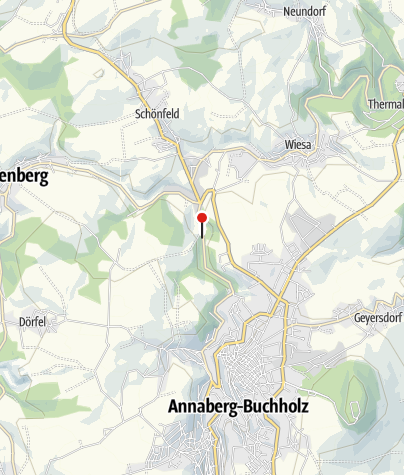 """Karte / Besucherbergwerk """"Markus Röhling Stolln"""" (Stolln 81)"""