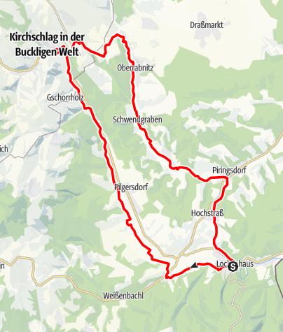 Karte / B41 Zöberntal-Rabnitztal Radwanderweg