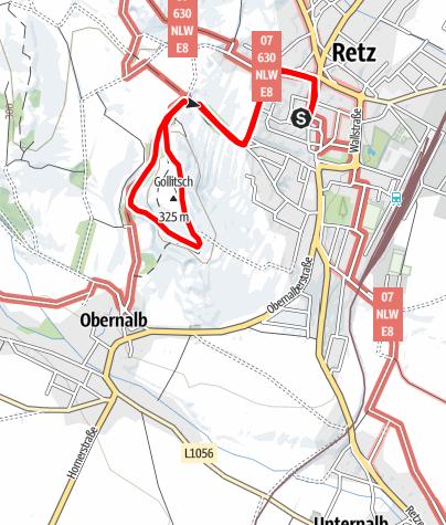 Karte / Golitschweg