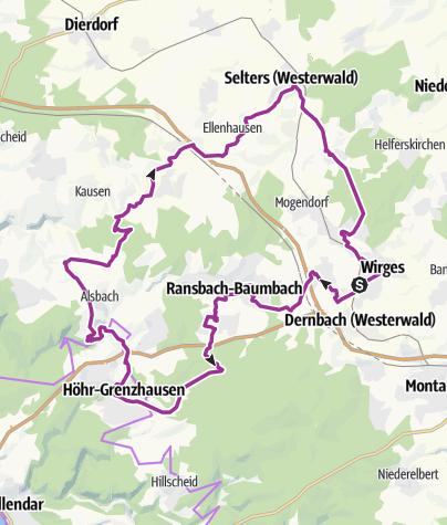Map / Kannenbäckerland-Route