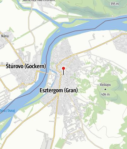 Térkép / Duna Múzeum