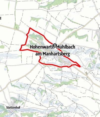 Karte / Rundwanderweg Hohenwarth