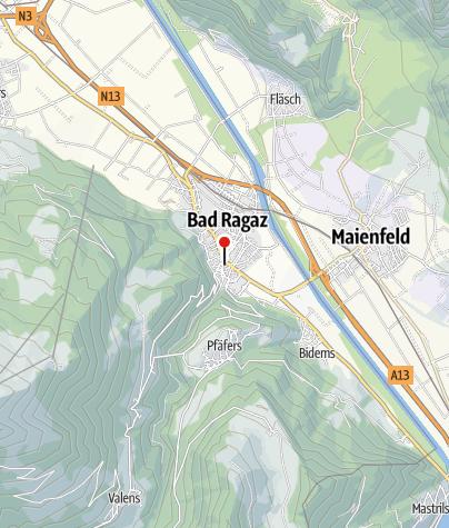 Karte / Café Huber