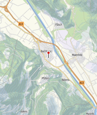 Karte / Garni Hotel Torkelbündte