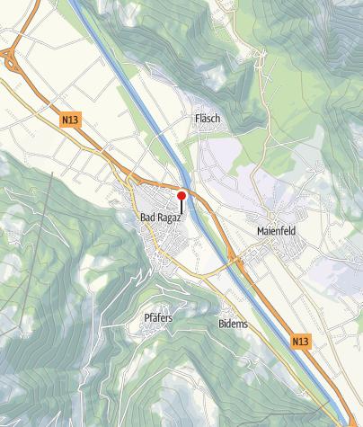 Karte / Ferienwohnung Gäumann - Kiener