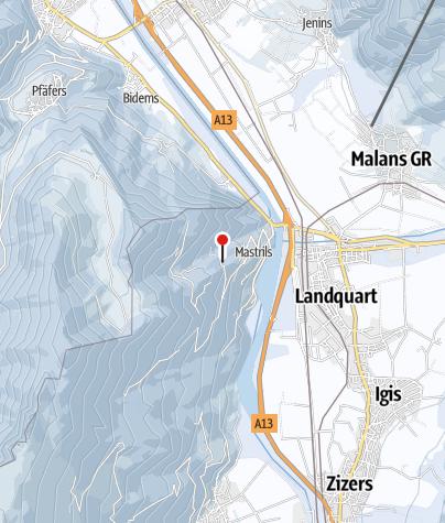 Karte / Skilift Mastrils