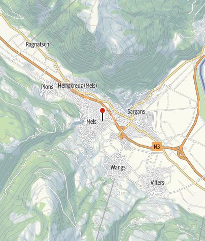 Karte / Hallenbad Mels