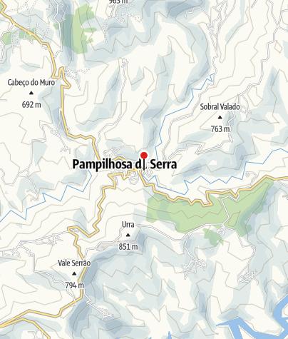 Map / Ponte Covilhã