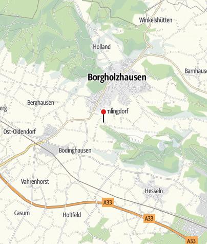 Karte / Rastplatz am Barenbergweg