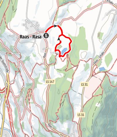 Kaart / Naturerlebnisweg Raiermoos