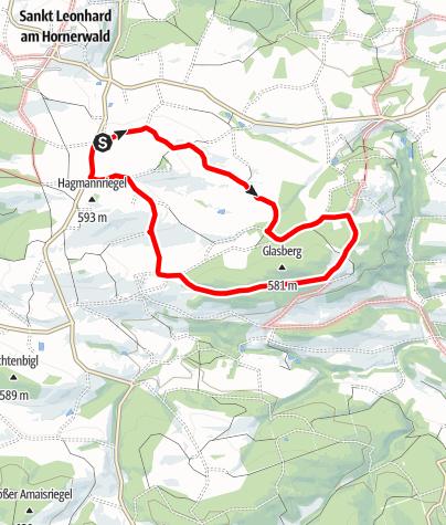 Karte / Geisterwerkstatt-Weg