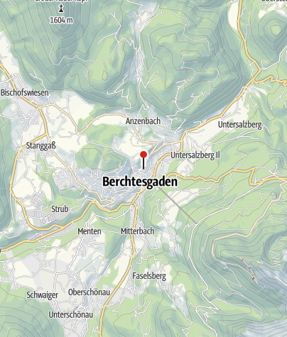 Karte / Stiftskirche Berchtesgaden