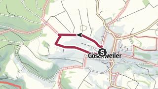Karte / Auf vier Pfoten durch Löffingen-Göschweiler