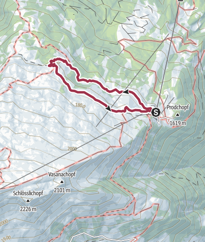 Map / 12th National Hiking Day: Hike 1 - Family Hike Pizol