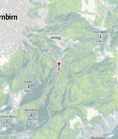 Map / Rappenlochschlucht