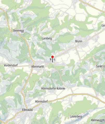 """Karte / Wallfahrtskirche """"Zum Gegeißelten Heiland auf der Wies"""""""