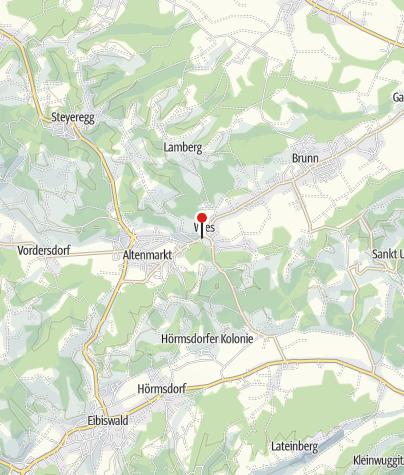"""Karte / Getreidemühle """"Leitensima"""""""