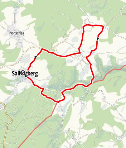 Karte / Augenbründlweg Nr. 10