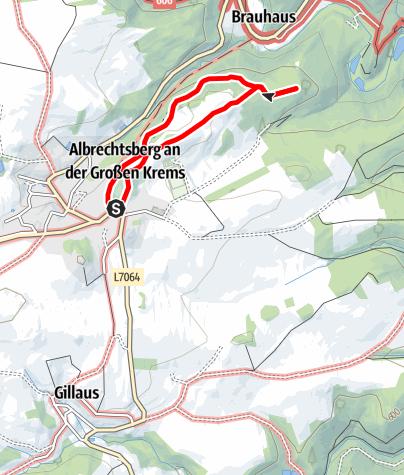 Mapa / Augenbründl-Weg