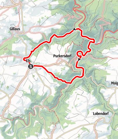 Karte / Gillausklausenweg