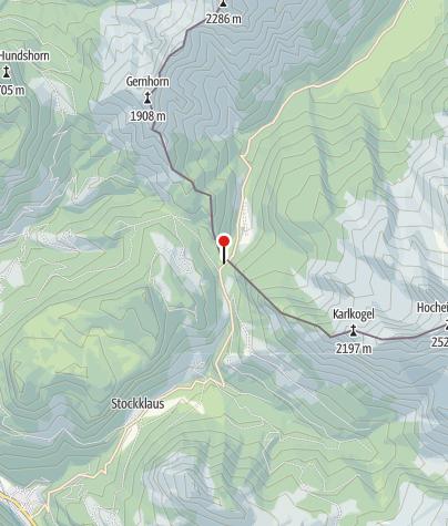 Karte / Alpengasthof Hirschbichl