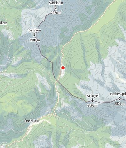 Karte / Die Bindalm
