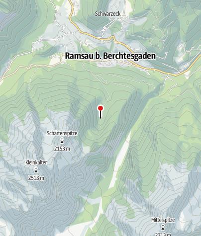 Karte / Die Eckaualm