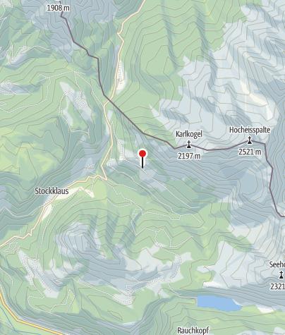 Karte / Die Kammerlingalm