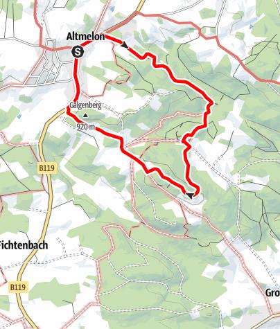 Mapa / Luaga-Lucka-Weg